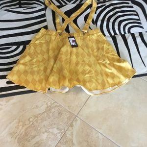 Torrid Suspender skirt size 2x new